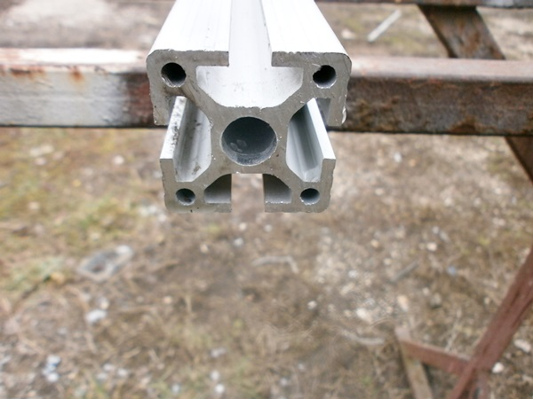 Aluminium gépépítő profil